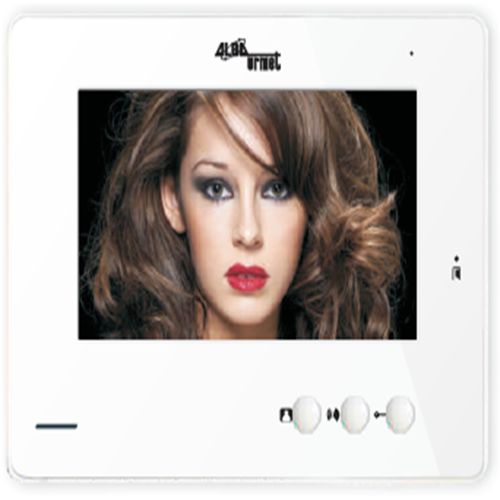 High Res 7INCH LCD Colour Video Phone Monitor with 2 way handfree duplex audio Door lock open function