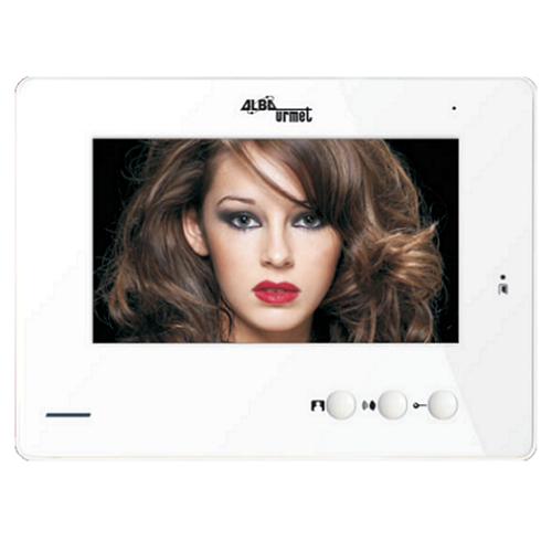 High Res 7inch LCD Color Video Phone Monitor with in-built Picture Memory