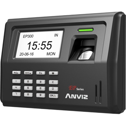 Fingerprint Time Attendance device for up to 1000 users with Optional Battery Backup