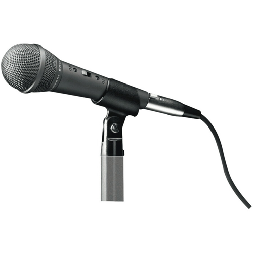 HANDHELD DYNAMIC MICROPHONE WITH STEREO JACK PLUG