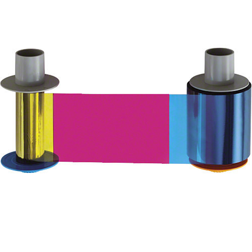 YMCKO Full Color Ribbon for DTC4500 Series ID Card Printers - 500 images