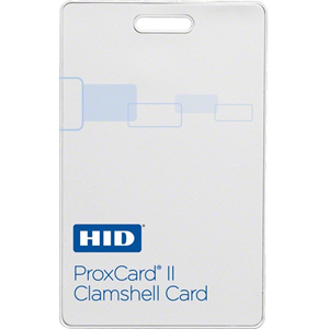 ProxCard II Proximity Access Card Clamshell, Non Programmed, Can be programmed at ADI Branches