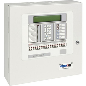 ZX2Se Control panel 1 to 2 Loop 230 Vac2 sounder circuits networking capability 400 X 400 X 135mm H X W X D Order loop card separately