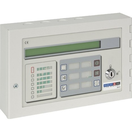 ZXrA Active Repeater Silence Mute Reset Accept Mute Evacuate and test controls Requires a 24 V DC supply and RS485 card to be fitted within the control panel