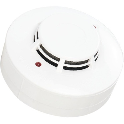 UL Listed blinking Photo electric smoke detector with base Dual LEDs for 360 visibility