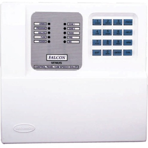 VENUS  4 Zone Control Panel with Onboard Key Pad and inbuilt 2 Message 40 Number Speech Dialer