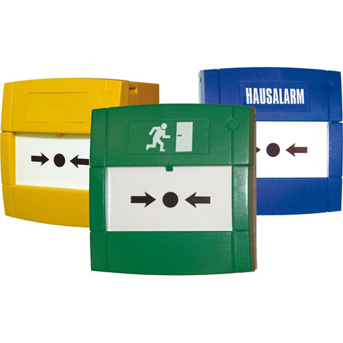 Green Manual call point Emergency door release