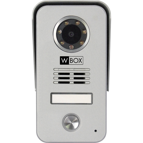Ultra Slim Color Video Door Phone Kit with 7 inch indoor monitor with memory and outdoor camera with white LEDs