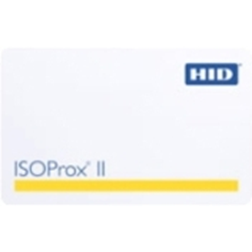 ISO PROX Card II  programmed from HID standard 26 bits