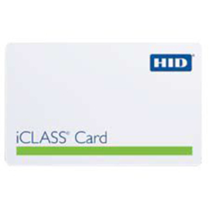 HID iCLASS Printable ISO Smart Card with 2k memory programmed by HID