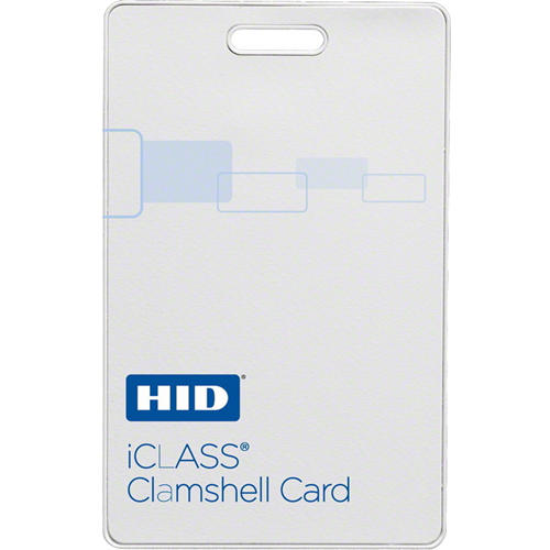 iCLASS Clamshell Card with 2K Memory, Programmed from HID