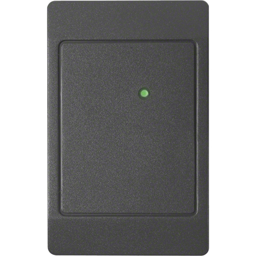 ThinLine II Switch Plate Proximity Reader with Wiegand output, Charcoal gray color