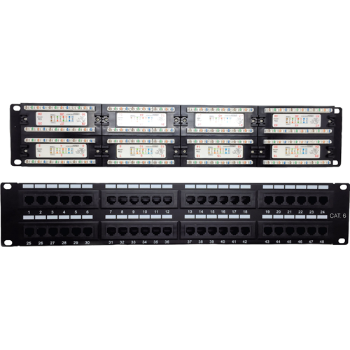 CAT6 PATCH PANEL 48 PORT