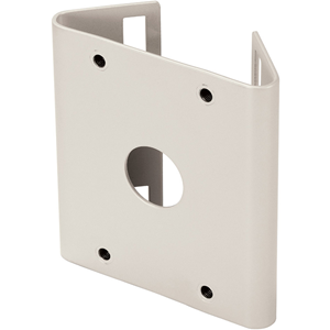 Hanwha Techwin SBP-300PM Pole Mount for Wall Mounting System, Mounting Base - Ivory - Ivory
