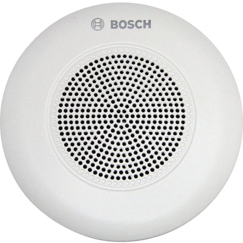 Bosch LC5-WC06E4 6 W RMS - 9 W PMPO Speaker - 1 Pack - White - 85 Hz to 20 kHz - 8 Ohm - 90 dB Sensitivity - Ceiling Mountable