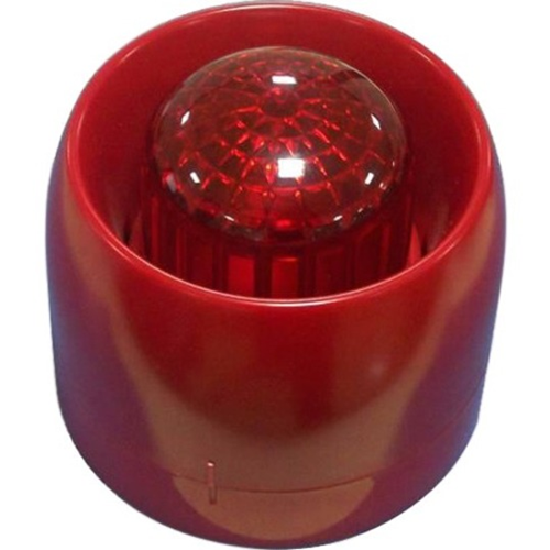 GST C-9403 Conventional Siren Strobe- Wired- 24Vdc- 85dB(A) @3mtrs- Audible, visual- wall Mountable
