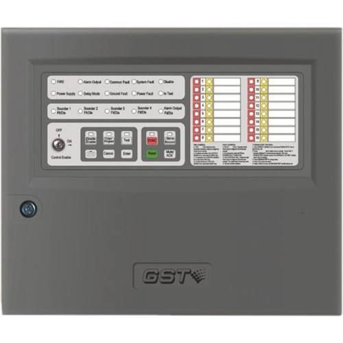 GST104A  Conventional Fire Alarm Control Panel - 4 Zone(s)