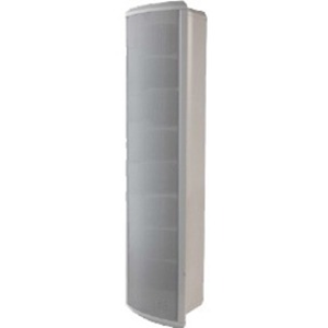 OUTDOOR COLUMN SPEAKER 20/10/5/2.5W WHITE ALU