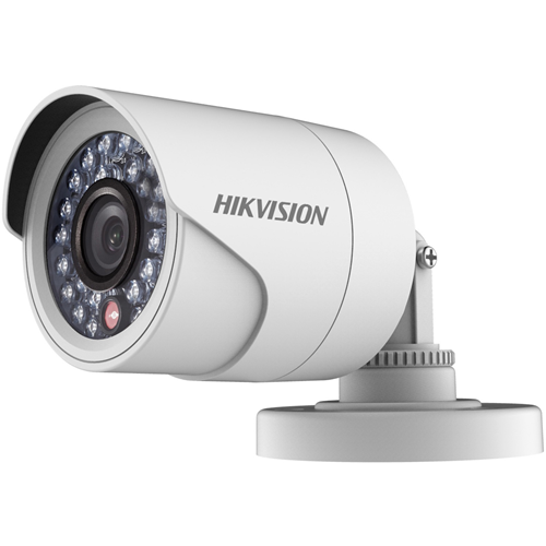 Hikvision DS-2CE11C0T-IRPF 1 Megapixel Surveillance Camera - Colour - 20 m Night Vision - 1280 x 720 - 3.60 mm - CMOS - Cable - Bullet - Junction Box Mount