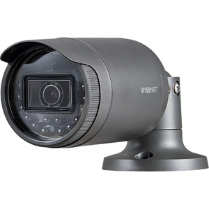 Hanwha Techwin 2 megapixel (1920 x 1080) resolution,Built-in 4mm fixed lens,Max. 30fps@all resolutions (H.264),Day & Night (ICR), WDR (120dB),Micro SD/SDHC memory slot (Max. 32GB), PoE,IR viewable length 30m,IP66 support