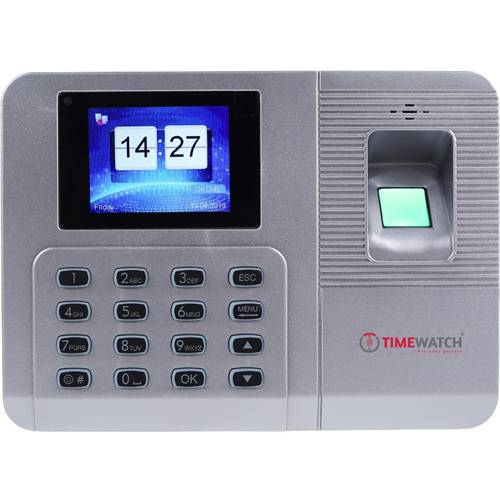TimeWatch BIO31 Biometric/Keypad Access Device - Door - Fingerprint, Key Code - 3000 User(s) - LCD - Ethernet - Network (RJ-45) - 5 V DC - Standalone