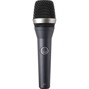 AKG D5 Microphone - 70 Hz to 20 kHz - Wired - Handheld, Shock Mount, Stand Mountable - XLR