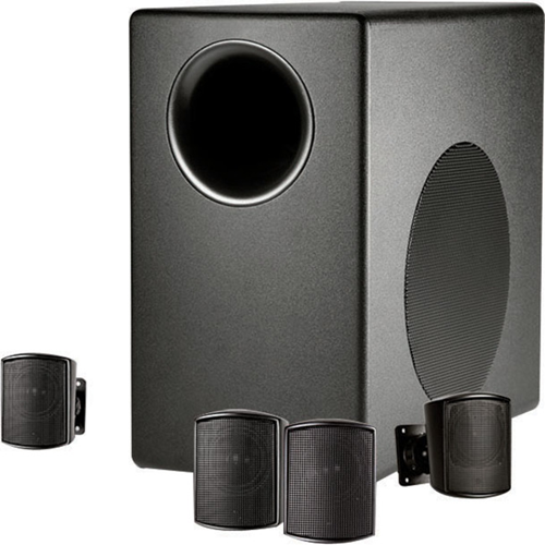 JBL Professional Control C50PACK 4.1 Speaker System - 200 W RMS - Wall Mountable - 50 Hz - 17 kHz
