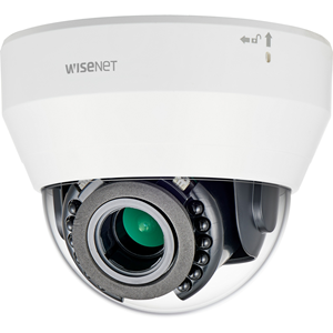 Hanwha Techwin WiseNet L LND-6070R 2 Megapixel Network Camera - Colour - 20 m Night Vision - H.264, Motion JPEG - 1920 x 1080 - 3.20 mm - 10 mm - 3.1x Optical - CMOS - Cable - Dome - Hanging Mount, Wall Mount, Pendant Mount, Flush Mount, Ceiling Mount