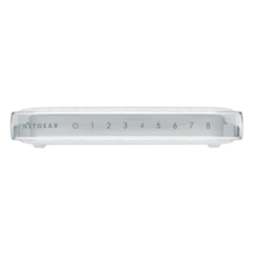 Netgear GS608 8 Ports Ethernet Switch - 8 x Gigabit Ethernet Network - 2 Layer Supported