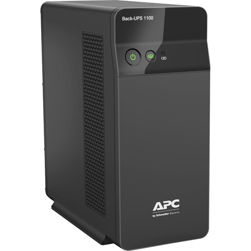 APC by Schneider Electric Back-UPS BX1100CIN Line-interactive UPS - 1.10 kVA/660 W - Tower - AVR - 6 Hour Recharge - 230 V AC Input - 230 V AC Output