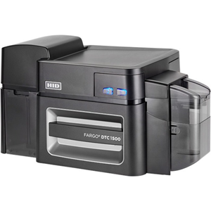 Fargo DTC1500 Double Sided Dye Sublimation/Thermal Transfer Printer - Colour - Desktop - Card Print - 24 Second Color - 300 dpi - PVC Card, Card, Magnetic Stripe Card, Polyester Card