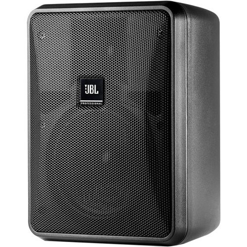 JBL Professional Control Control 25-1L 2-way Indoor/Outdoor Wall Mountable Speaker - 200 W RMS - Black - 60 Hz to 20 kHz - 8 Ohm