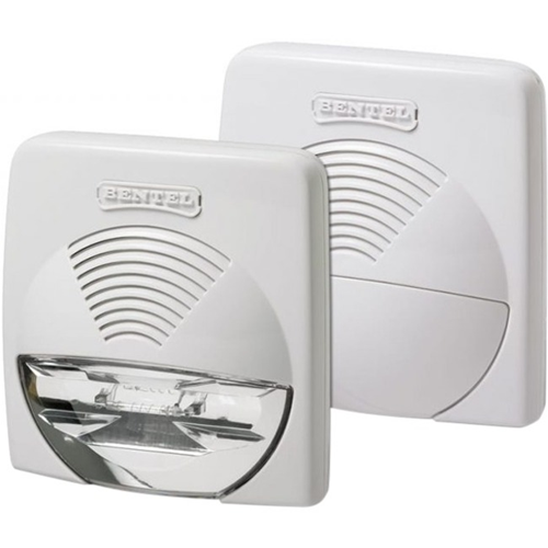 Tyco WAVE W Siren - 12 V - 104 dB(A) - Audible - White