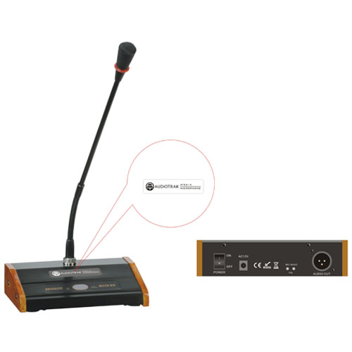 Dynamic Microphone with base and built i