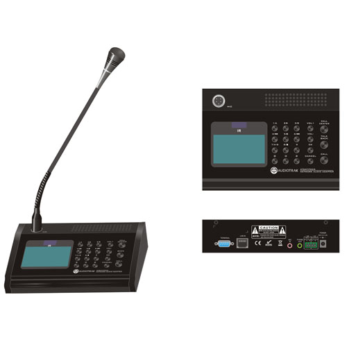 Digital Call station with inbuilt mic