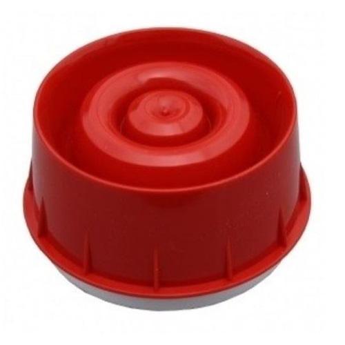 Intelligent Wall Mounted Sounder Red wit