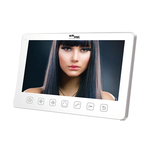 7INCH Colour Monitor with soft touch but