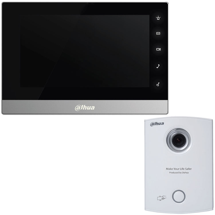 IP Kit with 7 inch Touch screen Monitor