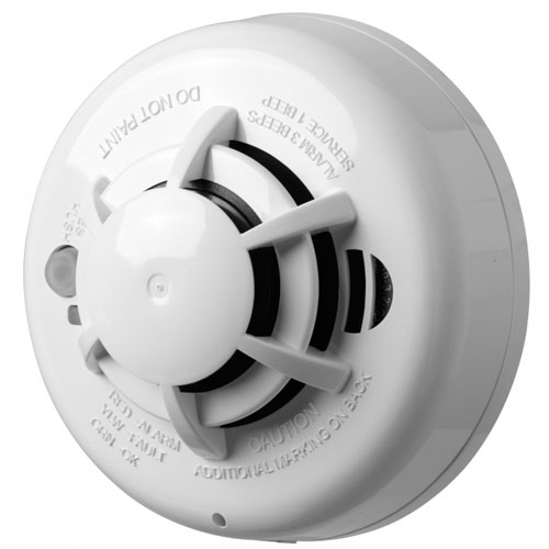Wireless Smoke and Heat detector