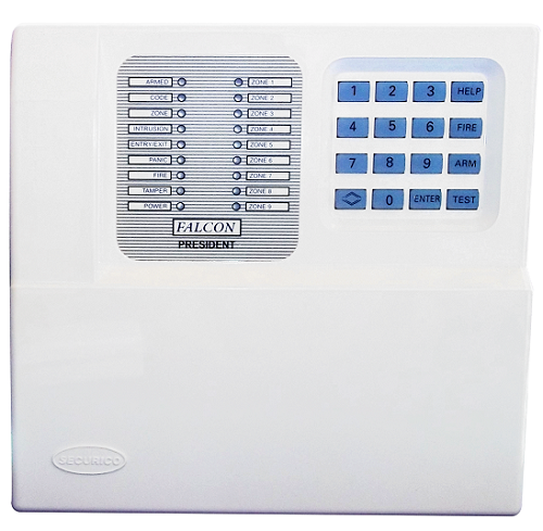 12 Zone Control Panel with onboard keypa