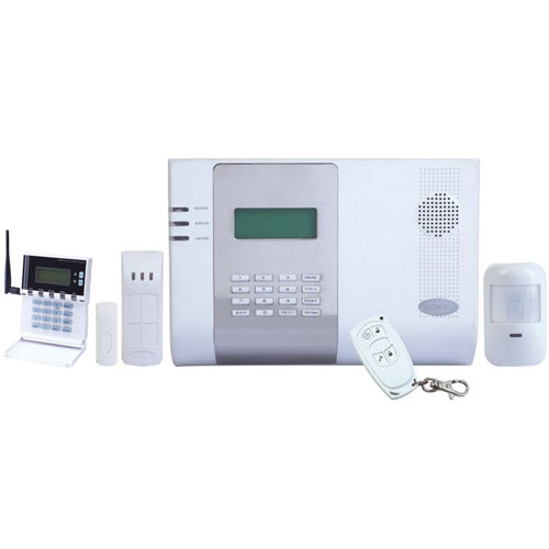 WIRELESS INTRUDER ALARM KIT WITH GSM DIALER