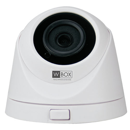 5 MP CMOS IP Dome camera with built in f