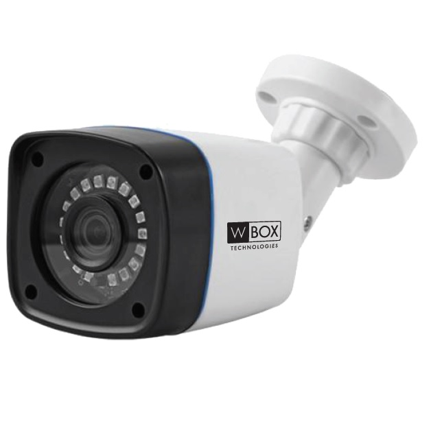 5 MP AHD Plastic Bullet Camera fixed lens