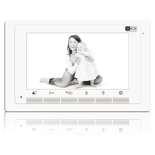 Ultra thin design 7 inch screen with int